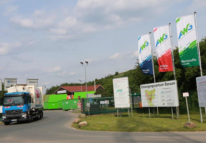 Wertstoffhof Bassum mit Biomassezentrum