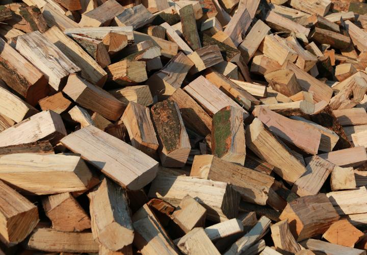 Wärme aus Brennholz
