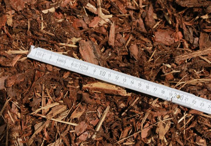 Rindenmulch 70-Liter-Sack Körnung 0 – 40 mm