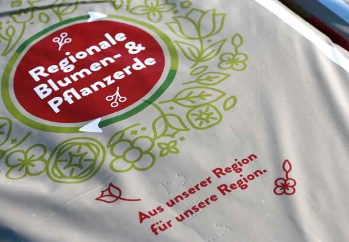 Regionale Blumen- und Pflanzerde 40-Liter-Sack