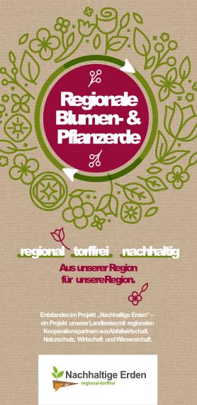 Regionale Blumen- und Pflanzenerde